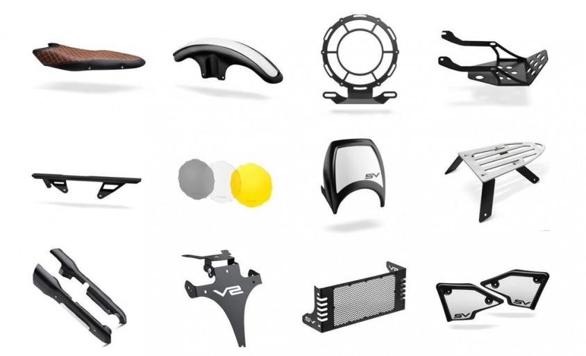 c racer bietet custom kit f r suzuki sv 650 motorradreporter. Black Bedroom Furniture Sets. Home Design Ideas