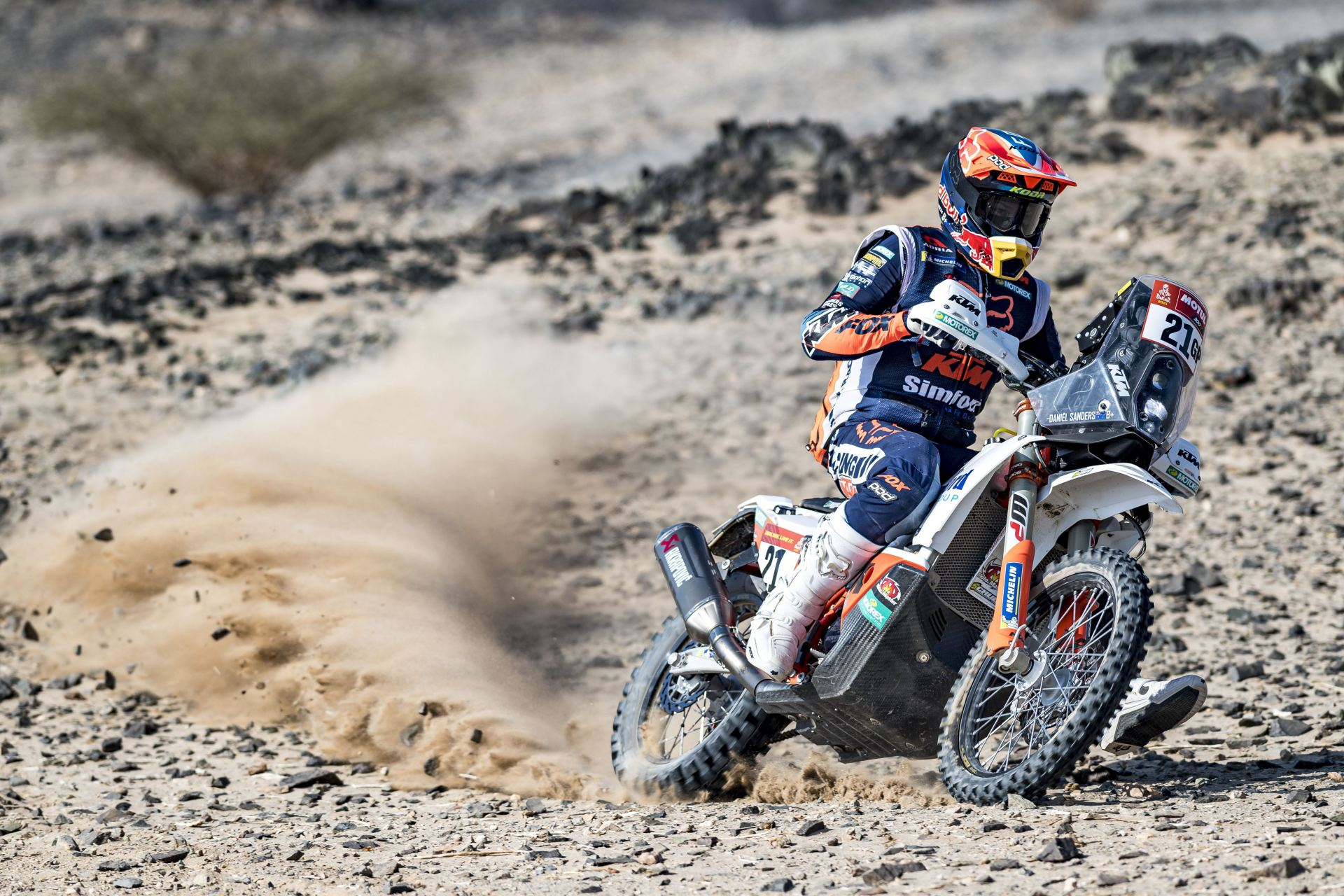 Daniel Sanders - KTM Factory Racing - 2021 Dakar Rally Stage Four