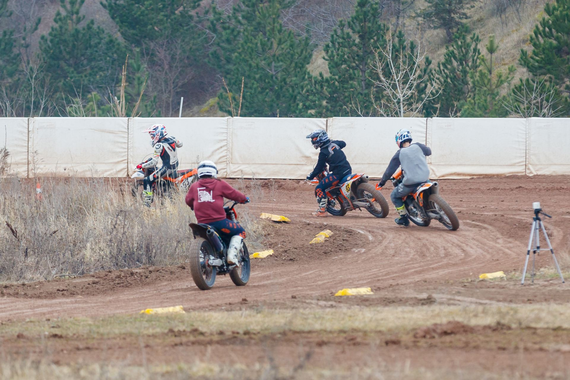 Flattrack - Trainingsrunden mit Instruktion