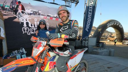 Manuel Lettenbichler von Red Bull KTM Factory Racing hat den dritten Platz beim King of Motos 2020 in Johnson Valley, CA, belegt - beim ersten Lauf der AMA Extreme Off-Road West Series 2020.