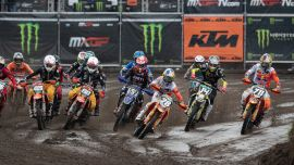Rene Hofer zur MX2 WM in Valkenswaard/NED