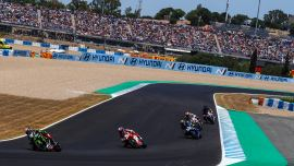 Superbike-WM Start in Spanien