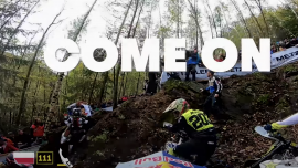 Video Trash Talking Riders on the World Enduro Super Series
