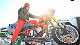 Interview: Scootfighter Burgmann Raptor 2