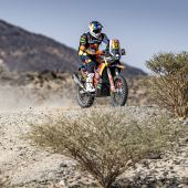Matthias Walkner - Red Bull KTM Factory Racing - 2021 Dakar Rally Stage Four