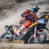 Sam Sunderland - Red Bull KTM Factory Racing - 2021 Dakar Rally Stage Four