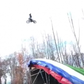 Travis Pastrana´s wildester Trick