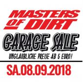Masters of Dirt Garage Sale